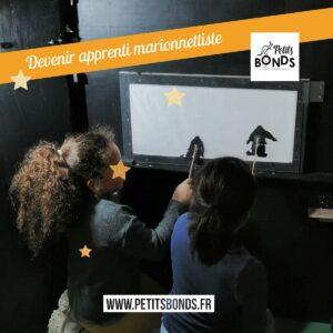 Atelier création de spectacles avec Petits Bonds