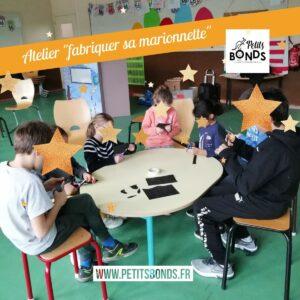 Atelier fabrication de marionnettes avec Petits Bonds