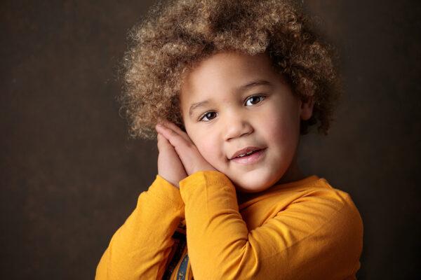 Portrait enfant metisse